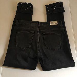 Zara Basic Z1975 Denim Black Size 4